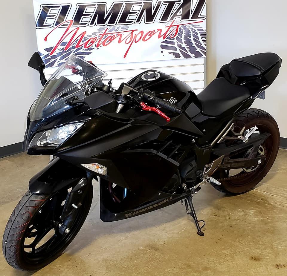 2013 kawasaki ninja ex300 1 elemental motorsports. Black Bedroom Furniture Sets. Home Design Ideas